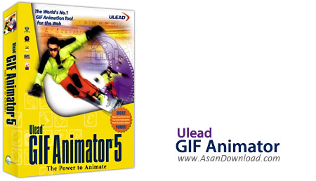 دانلود Ulead GIF Animator 5 - نرم افزار ساخت تصاویر متحرک GIF