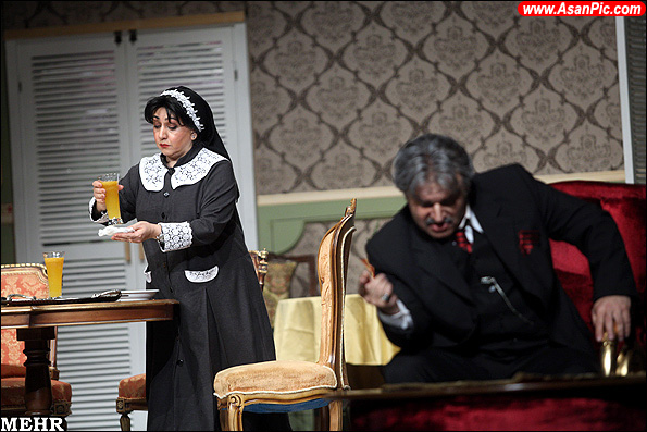 گزارش تصویری اجرای نمایش پدر خوانده ناپلی