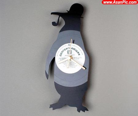 تصاويری از ساعت های ديواری ابتكاری