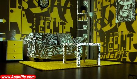 تصاويری اتاق خواب های مینیاتوری
