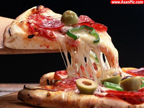تصاويری از پیتزاهای بسیار خوشمزه