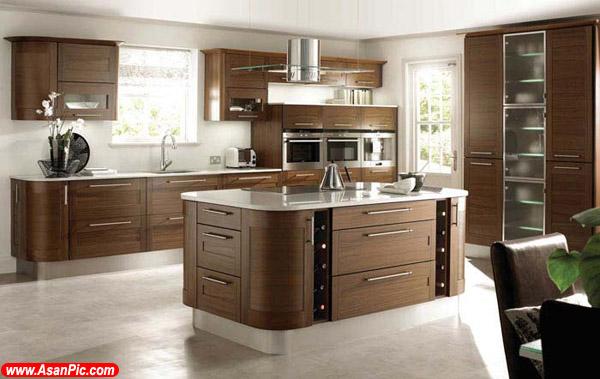 عكس های مدل های زیبای دکوراسیون آشپزخانه