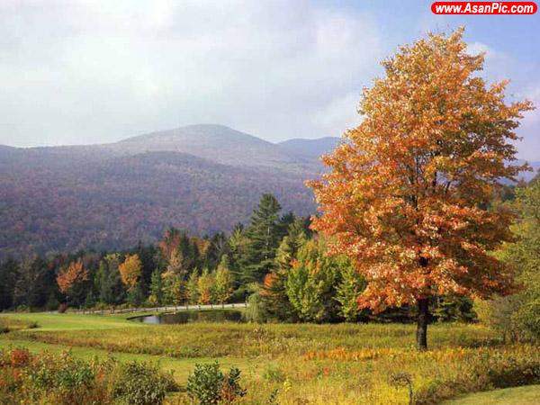 عکس های بسیار شگفت انگیز از فصل پاییز - قسمت دوم