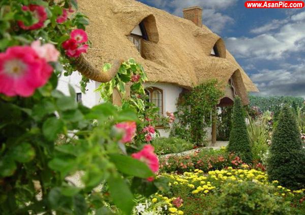 خانه های خشگل با پشت بام های جالب در u.k