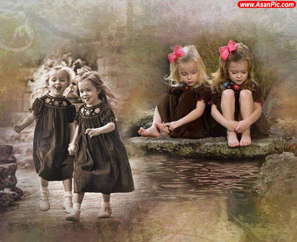 تصاویری از نقاشی کودکان