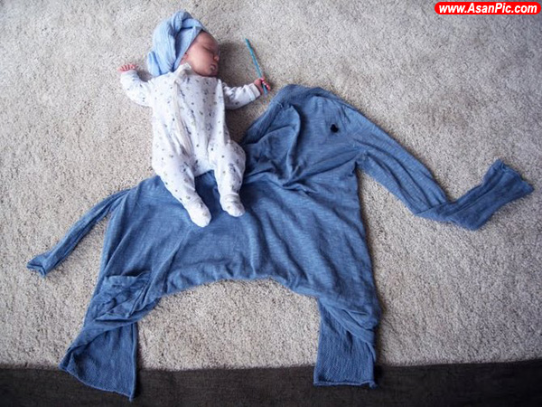 وقتی مادر کودک عکاس باشد!