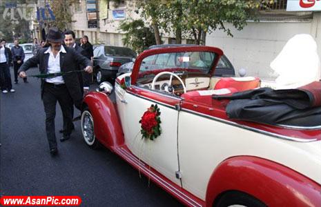 تصاويری از عروسی با آداب و رسوم گذشته