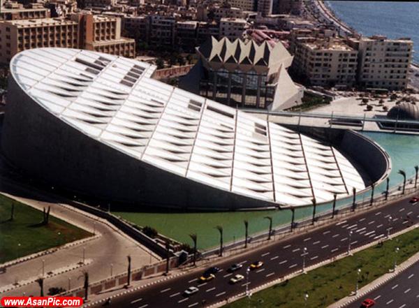 تصاویری از عجیب ترین ساختمانهای دنیا