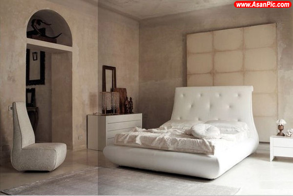 تصاویری از جدیدترین دکوراسیون اتاق خواب