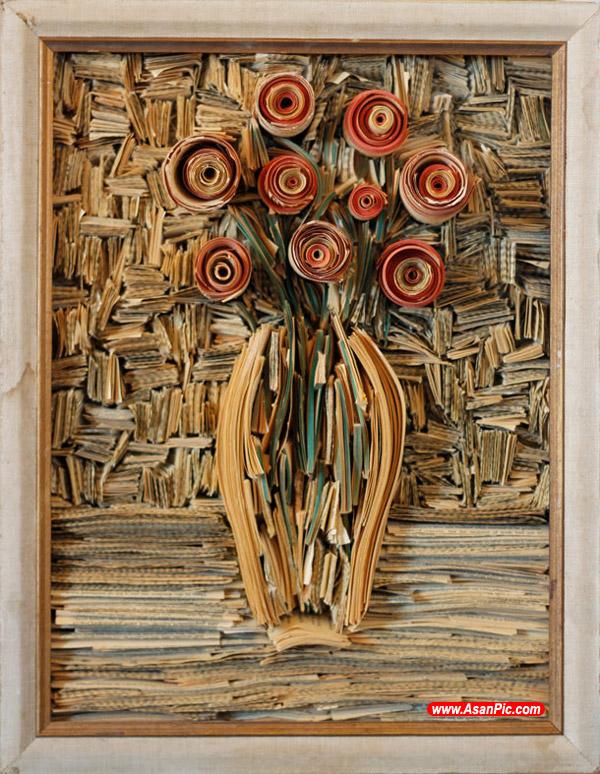 تصاويری زيبا از طراحی با چوب