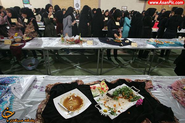 جشنواره بزرگ آشپزی غذا های محلی و دانشجویی
