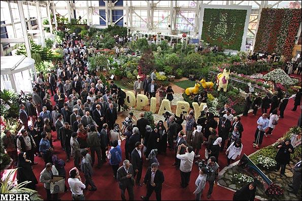 گزارش تصویری دهمین نمایشگاه بین المللی گل و گیاه تهران