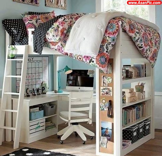 طراحی های جالب برای زندگی در فضاهای کوچک و آپارتمانی