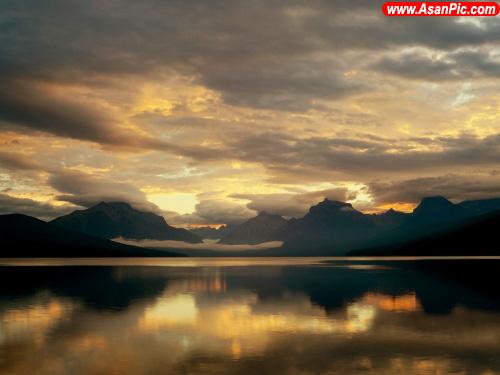 عکس های فوق العاده دیدنی و زیبا از دریاچه ها