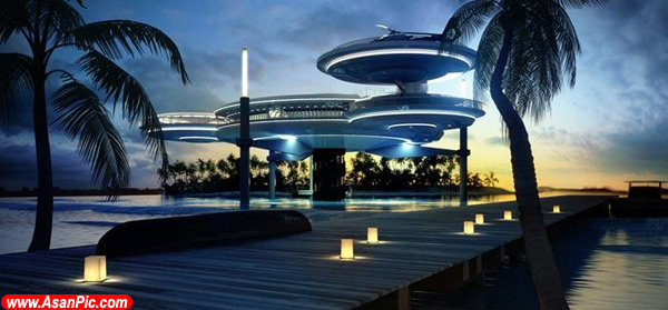 هتلی بی نظیر در کف اقیانوس !