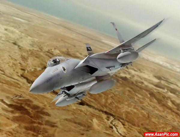 نقاشی هایی حیرت انگیز از مانورهای هوایی - قسمت اول