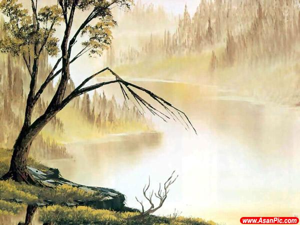 نقاشی های بسیار زیبا رنگ روغن - قسمت اول