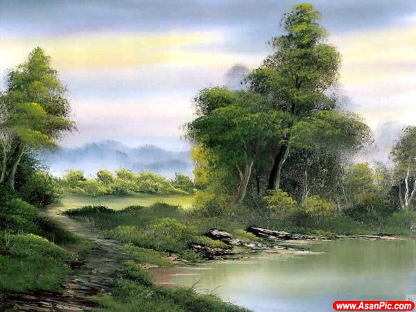 نقاشی های بسیار زیبا رنگ روغن - قسمت دوم