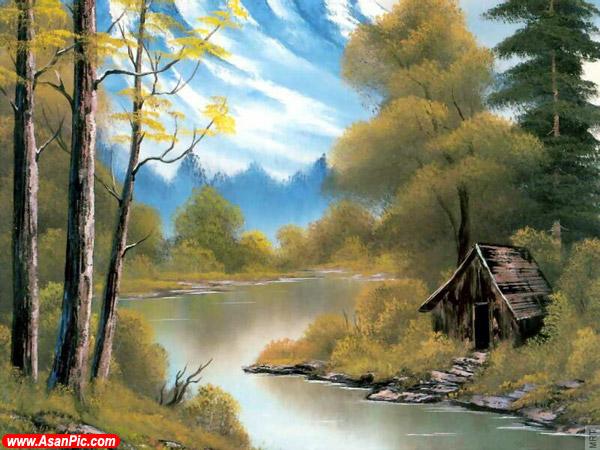 نقاشی های بسیار زیبا رنگ روغن - قسمت سوم