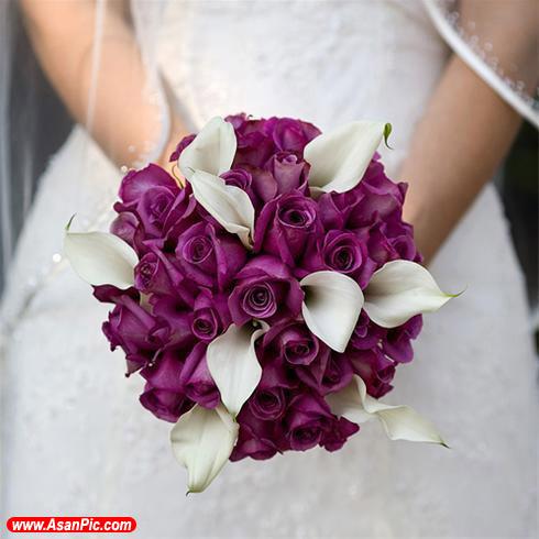 تصاویر مدل دسته گل عروس