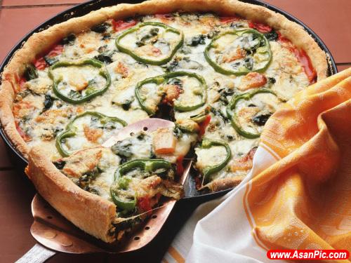 تصاویری از خوشمزه ترین انواع پیتزاها