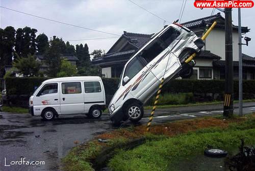 تصاویری از تصادفات های ترسناک جاده ای