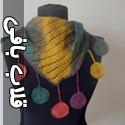 مدل شال و روسری قلاب بافی