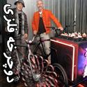 تصاویری از دوچرخه هایی با چرخ های فلزی!