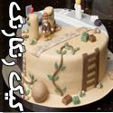 تصاویری از کیک های خوشمزه با طرح های رنگارنگ
