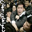 تصاویری از دعواهای سیاسی در جهان
