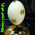 هنر نمایی با پوست تخم مرغ!