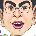 کاریکاتوری از فرزاد حسنی