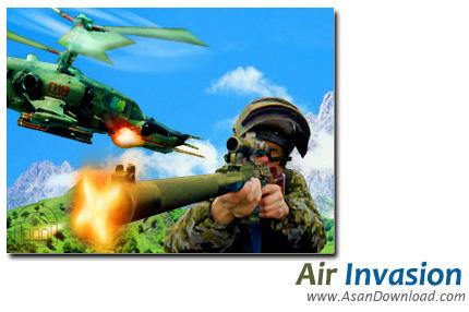 دانلود Air Invasion - بازی حمله هوایی