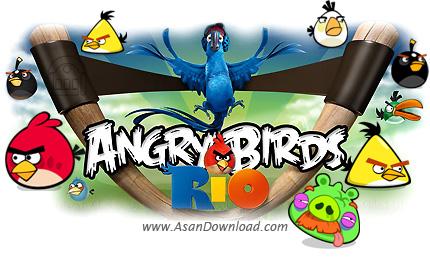 دانلود Angry Birds Rio v1.7.0 + v2.1.0 - بازی پرندگان خشمگین ریو