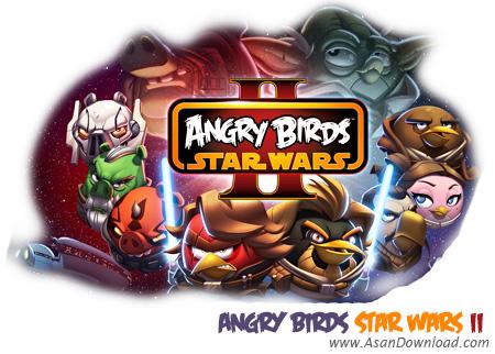 دانلود Angry Birds Star Wars II - بازی پرندگان خشمگین در جنگ ستارگان
