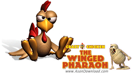 دانلود Crazy Chicken The Winged Pharaoh - بازی جوجه دیوانه در سرزمین مصر