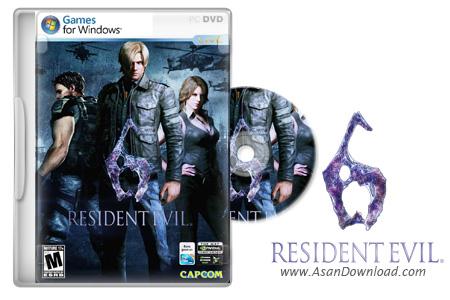 دانلود Resident Evil 6 - بازی اقامتگاه شیطان
