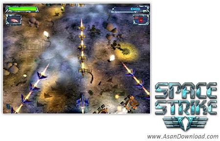 دانلود Space Strike v1.04 - بازی جنگ فضایی و نجات جهان