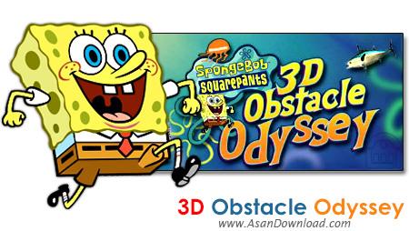 دانلود SpongeBob SquarePants: 3D Obstacle Odyssey - بازی در جست و جوی باب اسفنجی و دوستانش