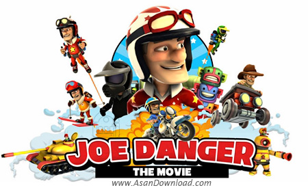 دانلود Joe Danger 2: The Movie - بازی جو خطرناک 2