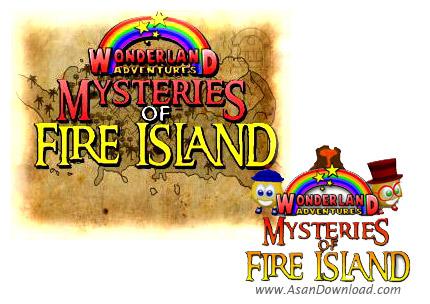 دانلود Wonderland Adventures: Mysteries of Fire Island - سرزمین عجایب
