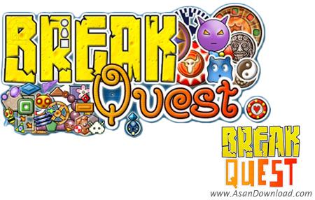 دانلود BreakQuest v1.1.6 - بازی تخریب با توپ