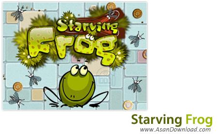 دانلود Starving Frog - بازی قورباغه گرسنه