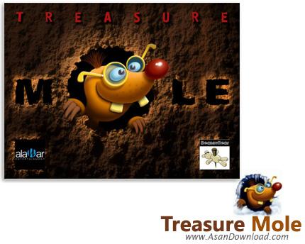 دانلود Treasure Mole - بازی در جست و جوی گنج های موش کوری به نام مولی
