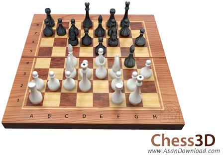 دانلود Chess3D v4.1 - بازی شطرنج سه بعدی