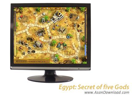 دانلود Egypt: Secret of five Gods - کشف رازهای مصر باستان