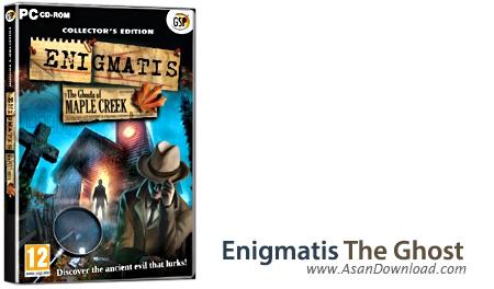 دانلود Enigmatis The Ghosts of Maple Creek Collector's Edition - بازی اشیای گمشده