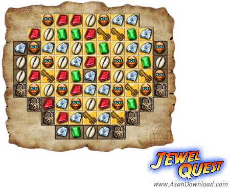 دانلود Jewel Quest v1.215 - بازی در جست و جوی گنجینه ها