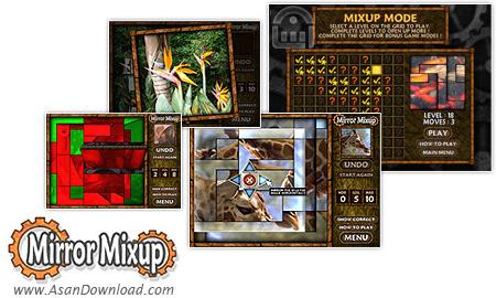 دانلود MirrorMixup v1.15.0 - بازی پازلی چرخش قطعات