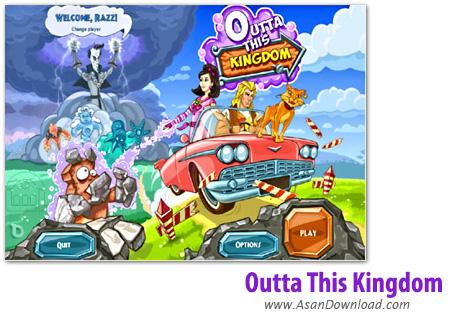 دانلود Outta This Kingdom - بازی راشل و سرزمین شگفت انگیز